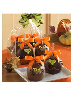 Mrs. Prindable's 4-Pack of Spooky Indulgence Apples at MYHABIT