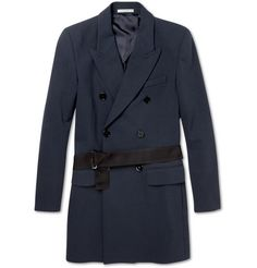 Carven double-breasted overcoat