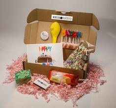 Geschenke für Frauen - GlückwunschBox für SIE - Grösse S - ein Designerstück von WunschBox-Gluecklich bei DaWanda