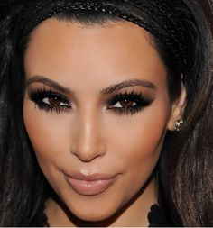 hate to love her or love to hate her Kim K: Queen of the Smokey Eye More here....... https://www.youtube.com/watch?v=sGY7jt4FDNE #makeup #makeupartist #makeupbrushes #eye
