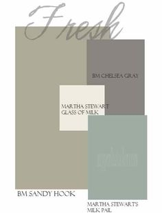 paint palette for interior of home - Google Search
