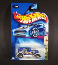 2004 Hot Wheels Tat Rods 1932 Ford Delivery Truck Metalflake Blue Die Cast Toy Car https://treasurevalleyantiques.com/products/2004-hot-wheels-tat-rods-1932-ford-delivery-truck-metalflake-blue-die-cast-toy-car #2000s #HotWheels #TatRods #Tattoo #HotRods #1930s #30s #Thirties #Ford #Delivery #Trucks #Diecast #Toys #Cars #Collectibles #Ship #Anchor #Autos #Vehicles #Automobiles