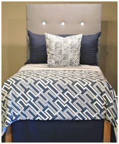 Dorm Bedding Idea for Guys!