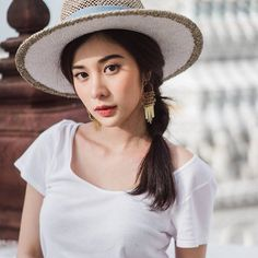 Sexy Asian Girls, Beautiful Actresses, Anime Girls, Girl Hairstyles, Photo Ideas, Thailand, Female, Woman, Hats