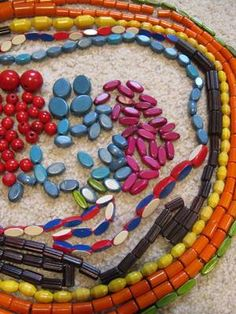 Lot of 490 Vintage Campfire Girl Honor Beads Wooden Beads Assorted Colors   eBay