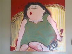 Mijn eerste schilderij.
