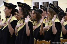 A Népegészségügyi Kar június 29-én megrendezett diplomaosztó ünnepségén készült fotó.