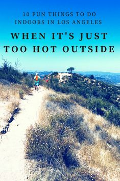 Some days it's just too hot to go outside in Los Angeles. Don't worry, we have 10 fun indoor things to do in Los Angeles on days when it's just too hot to go outside. Indoor Things To Do, Indoor Places, Los Angeles Neighborhoods, Hot Days, Go Outside, Don't Worry, Southern California, Stuff To Do, The Neighbourhood