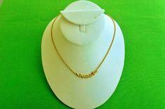 Vintage Attatched Pendant Necklace Item 1291 by LaylaBaylaJewelry