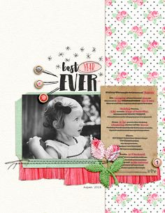 Scrapbook Page Storytelling with Cross-Out Poems   Amy Kingsford   Get It Scrapped
