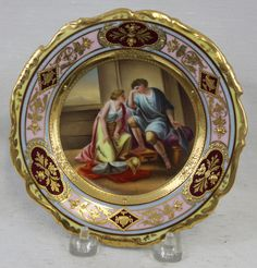 Royal Vienna 19th Century Porcelain Plate