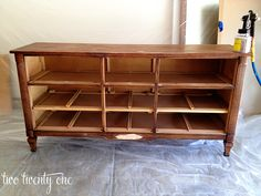 two twenty one: How to Turn a Dresser Into a TV Stand {DIY}