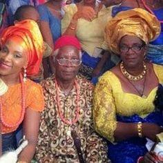 Photo:Genevieve Nnaji has been honoured with a chieftaincy title 'EZE ADA'