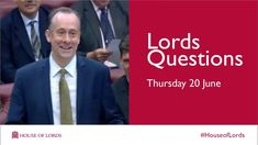 At the start of business every sitting day Monday to Thursday, the House of Lords quizzes government on any topic it is responsible for. Members of the Lords. Fairfax Media, House Of Lords, 20 June, William Shatner, St Albans, Thursday, Roman, France, This Or That Questions