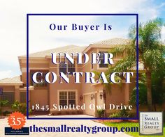 UNDER CONTRACT! Our Buyers can't wait to call this Falcon Trace beauty home!  Thinking of selling your existing home? Considering a new home purchase? Call The Small Realty Group LLC today 772.480.4660! Kim Small  thesmallrealtygroup.com #thesmallrealtygroup #buyers #undercontract #VeroBeach #loveVero #Florida #FalconTrace #VeroBeachrealestate Indian River County, Vero Beach Fl, Treasure Coast, Coastal Living, New Homes, Florida, Real Estate, Island, Group