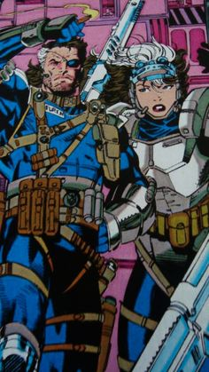 Nick Fury and Rogue from X-Men #274