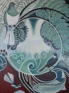 Related image School Murals, Art School, Altered Canvas, Maori Designs, Tiki Art, New Zealand Art, Jr Art, Maori Art, Kiwiana