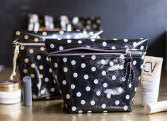 15 DIY Makeup Bags to Travel Pretty via Brit + Co