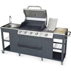 Alice S Garden - barbecue au gaz D'artagnan cuisine extérieure 5