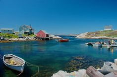 Peggys Cove, Nova Scotia and beautiful vacation spots in the world Oh The Places You'll Go, Places To Visit, Amazing Places, Beautiful Places, Beautiful Vacation Spots, City Scapes, I Want To Travel, Colour Inspiration, Travel Images