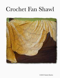 Crochet: Crochet Fan Shawl