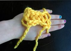 Finger Knitting: The Perfect Winter Craft for All Ages - Keeper of the Home