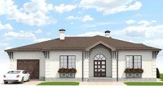 Проект двухэтажного дома 210 м2 - Новация 32 Gazebo, Outdoor Structures, House Design, How To Plan, Mansions, House Styles, Interior, Home Decor, Plans