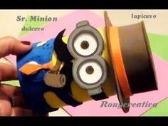 MINION PARA EL DIA DEL PADRE / Sr. MINION - Mr. MINION DIY