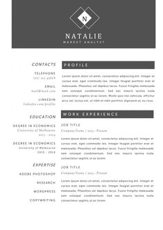 Resume   Modern And Creative Resume Template With Qr Code