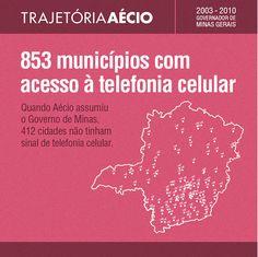 Mais municípios de Minas passaram a usar celulares. #AecioNeves #ParaMudarOBrasil http://aecioneves.net.br/
