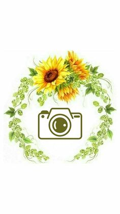 Story Highlights, Instagram Highlight Icons, Scrapbook Albums, Paper Flowers, Instagram Story, Wallpaper, Cover, Watercolor Sunflower, Sunflower Drawing