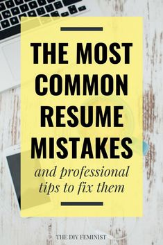 This list of common resume mistakes to avoid is packed with information to modernize your resume, including tips and tricks to fix the biggest mistakes. Resume Advice, Resume Skills, Job Resume, Career Advice, Career Planning, Career Success, Cover Letter Tips, Writing A Cover Letter, Cover Letter For Resume