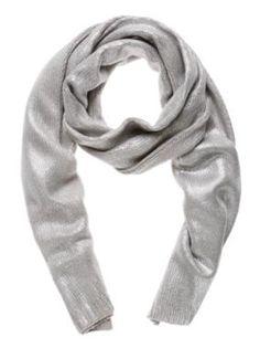 Sussan Metallic foil scarf