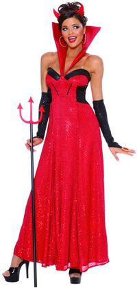 Hollywood Devil Costume - Devil Costumes