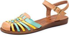 Hetane aposta nas sandálias modelo huaraches para o verão