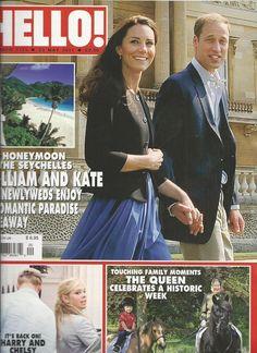 Hello magazine Kate Middleton Prince William Queen Elizabeth Prince Harry