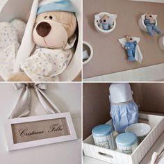 Olá Pessoal! Tudo bem? Espero que sim!!!!   Hoje é dia de decoração de quartinho de bebê , para inspirar todas as mamães que estão gestando...