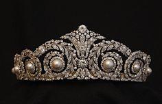 """""""Tiara Cartier de Victoria Eugenia"""" Spanish Royal Family."""
