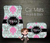 Car Mats, Classy Colors