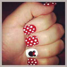 Nails for my honeymoon in Walt Disney World!!! Thank you Lisa!