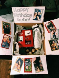 Ideas Gifts For Boyfriend Diy Anniversary Cute Ideas For 2019 Birthday Gifts For Boyfriend Diy, Cute Boyfriend Gifts, Bf Gifts, Cute Birthday Gift, Diy Gifts For Him, Birthday Gifts For Best Friend, Unique Birthday Gifts, Boyfriend Anniversary Gifts, Boyfriend Care Package