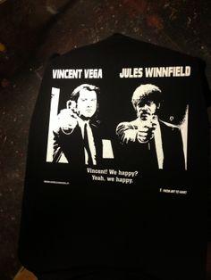 """Enrico Sordi: Prima foto della nuovissima T-Shirt """"Pulp Fiction""""..."""