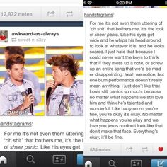 This is so perfect. We love you Louis. Love you so much!!! So proud of all the boys!!