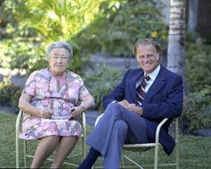 """Billy Graham and Corrie ten Boom   -   """"Corrie is one of the great Christian heroines of the century,"""" Billy Graham once said of Corrie ten Boom."""