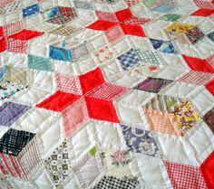 Vintage Quilt Hand-Stitched Master Quilter by izzysvintagegarden