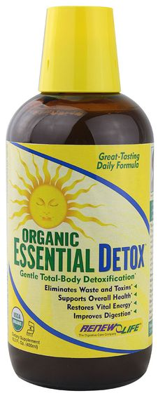 Renew Life Organic Essential Detox $34 | 5 STARS | Amazing list of powerful cleansing herbs and foods.  It's easy to take and tastes perfectly pleasant given the nature of the product.