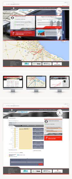 Se priorizó la fácil e intuitiva usabilidad a la hora de plantear el sitio web para los ferrocarriles Roca y Belgrano Sur. Buscamos un diseño moderno y limpio, cuidando cada detalle. El reloj en la parte derecha de la web, es un detalle que remite al reloj propio de una estación de tren y hace a este sitio único en su rubro. Programamos un buscador de recorridos, en el que al colocar una estación de origen y una de destino,se ven  las estaciones que conforman el tramo, la distancia y el…