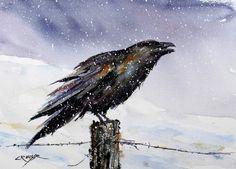 Hey, diesen tollen Etsy-Artikel fand ich bei https://www.etsy.com/de/listing/54797009/raven-sie-aquarell-drucke-von-dean