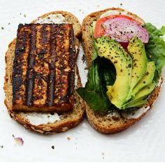 Tofu sandwich - Don't bother buying baked tofu again: Here's how to make it…