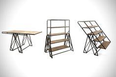 Convertible Shelf Table | HiConsumption